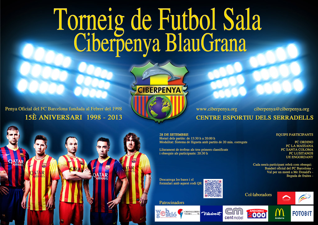 Soccer Tournament poster 2013